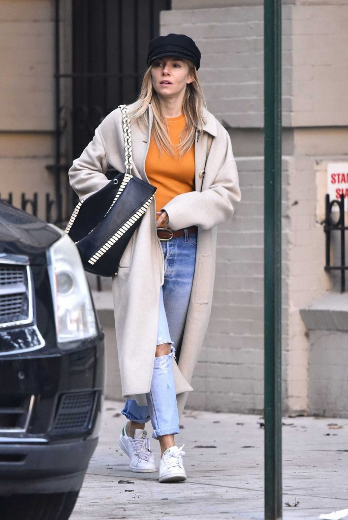 Sienna Miller Was Seen Out in New York-3