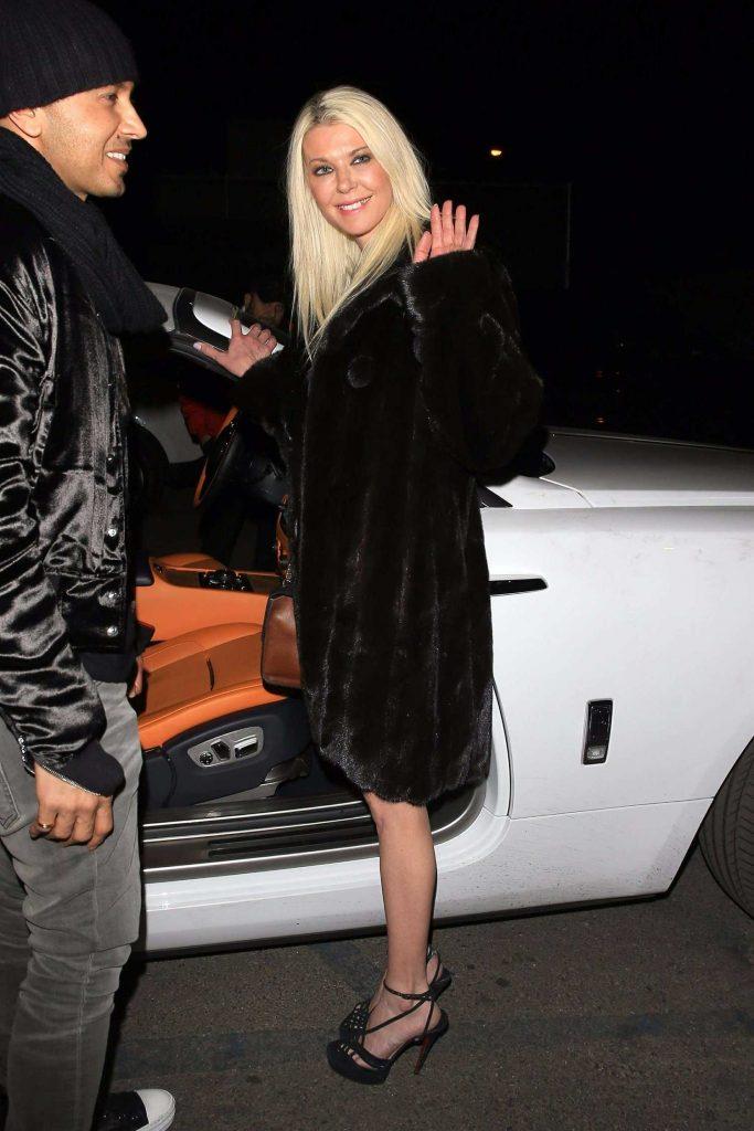 Tara Reid Arrives at Craig's Restaurant in West Hollywood-5