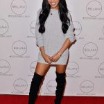 Teala Dunn at the Dove x BELLAMI Collection Launch Party in Culver City