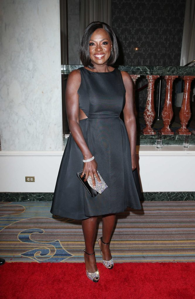 Viola Davis at ACLU SoCal's Annual Bill of Rights Dinner at the Beverly Wilshire Four Seasons Hotel in Beverly Hills-1