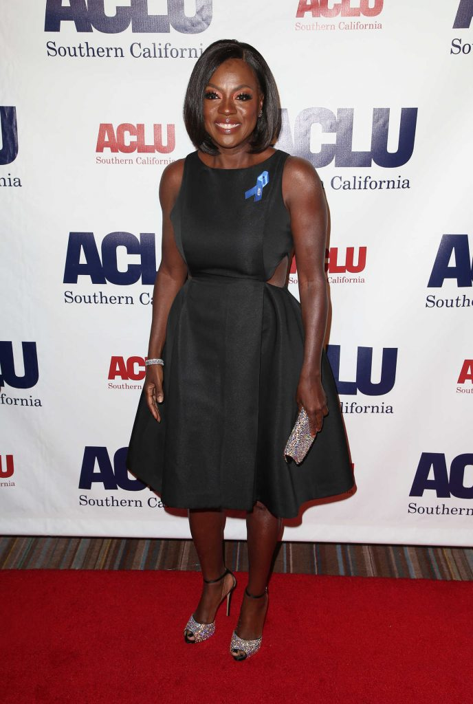 Viola Davis at ACLU SoCal's Annual Bill of Rights Dinner at the Beverly Wilshire Four Seasons Hotel in Beverly Hills-2