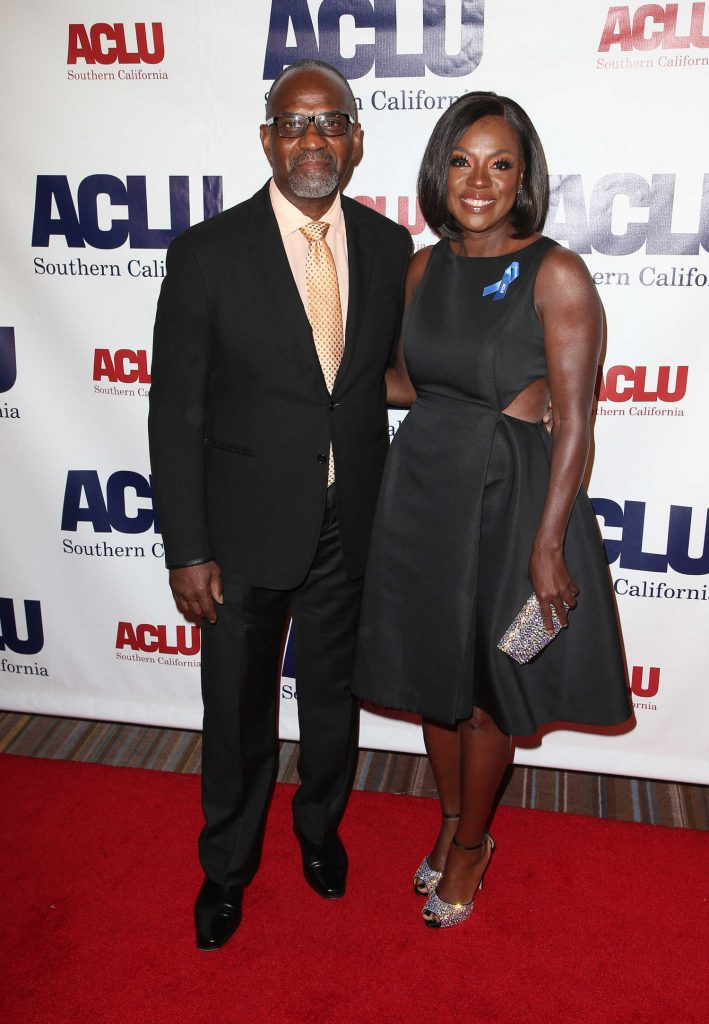 Viola Davis at ACLU SoCal's Annual Bill of Rights Dinner at the Beverly Wilshire Four Seasons Hotel in Beverly Hills-3