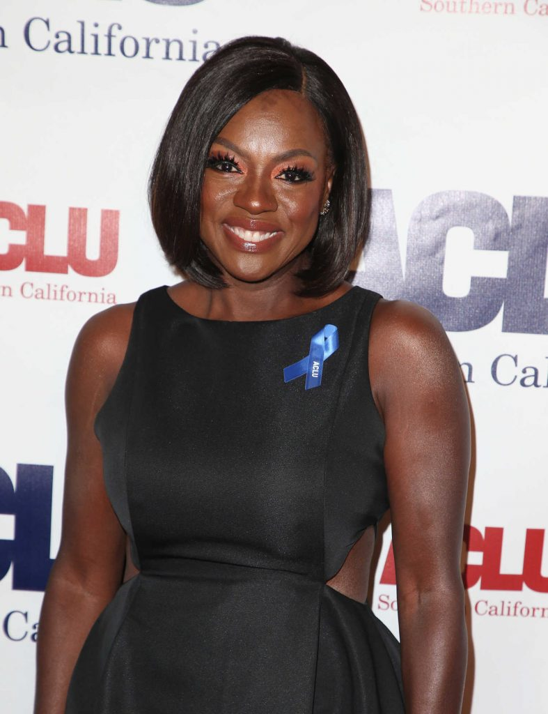 Viola Davis at ACLU SoCal's Annual Bill of Rights Dinner at the Beverly Wilshire Four Seasons Hotel in Beverly Hills-4