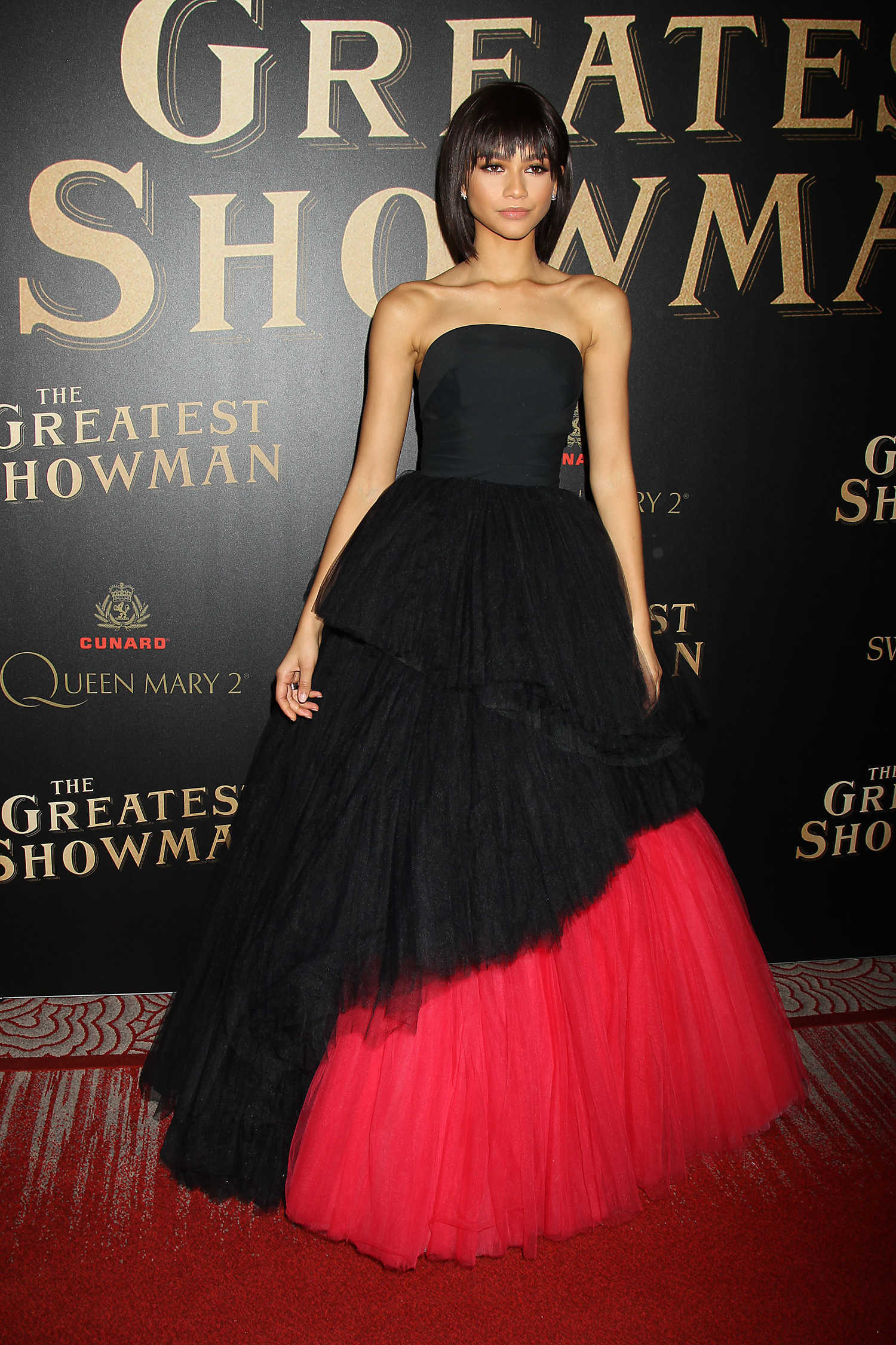 Zendaya At The Greatest Showman World Premiere Aboard The