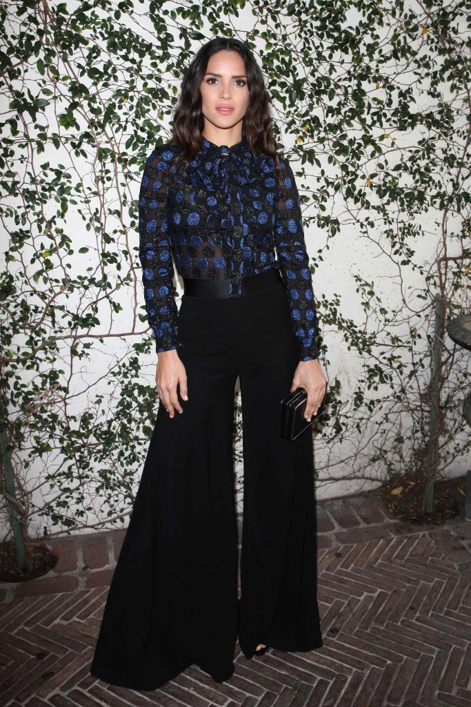 Adria Arjona at Lynn Hirschberg Celebrates W Magazine's It Girls With Dior in LA-1