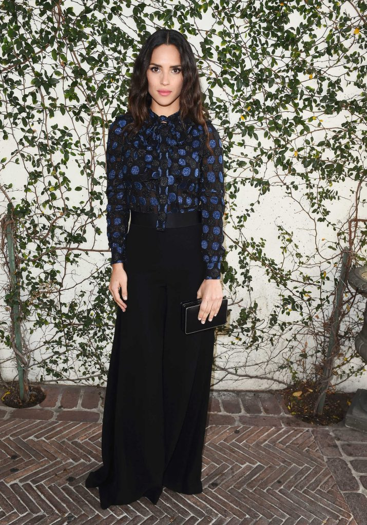 Adria Arjona at Lynn Hirschberg Celebrates W Magazine's It Girls With Dior in LA-2