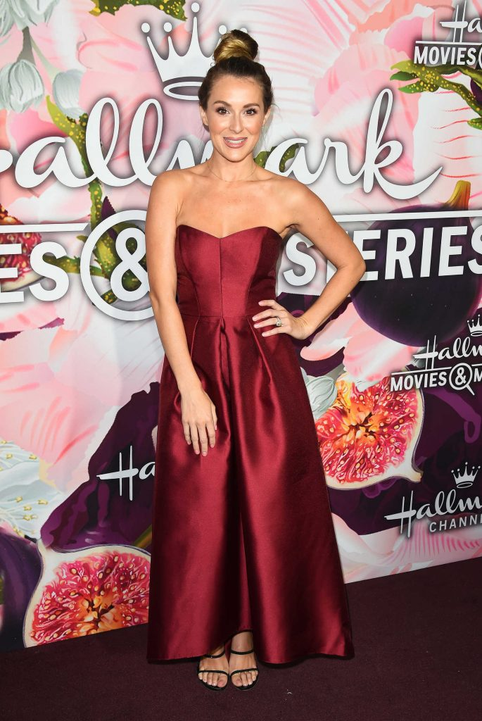 Alexa PenaVega at the Hallmark Channel All-Star Party During the TCA Winter Press Tour in Los Angeles-1