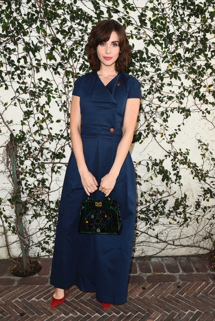 Alison Brie at Lynn Hirschberg Celebrates W Magazine's It Girls With Dior in LA-1