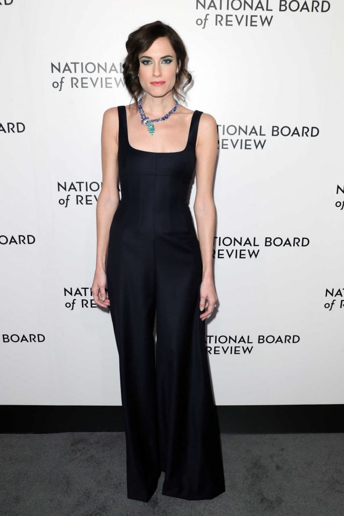 Allison Williams at The National Board of Review Annual Awards Gala at Cipriani 42nd Street in New York City-1