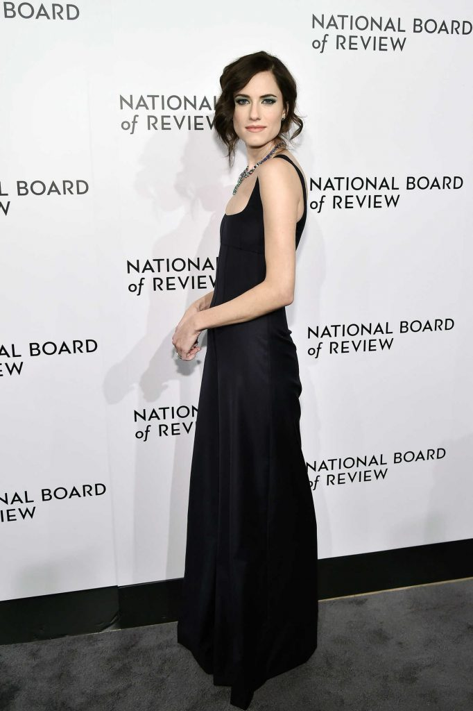 Allison Williams at The National Board of Review Annual Awards Gala at Cipriani 42nd Street in New York City-3