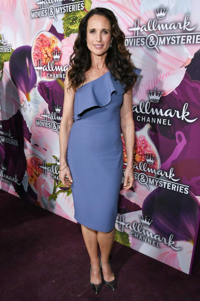 Andie MacDowell at the Hallmark Channel All-Star Party During the TCA Winter Press Tour in Los Angeles-1