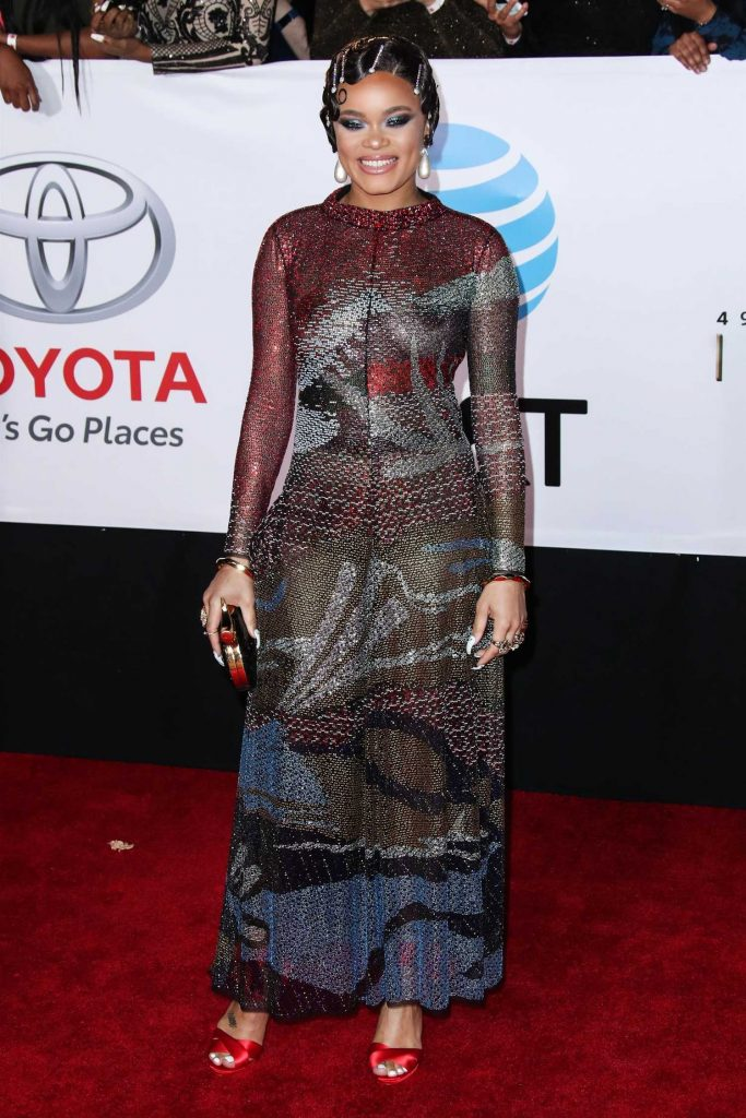Andra Day at the 49th NAACP Image Awards Dinner and Ceremony in Pasadena-1