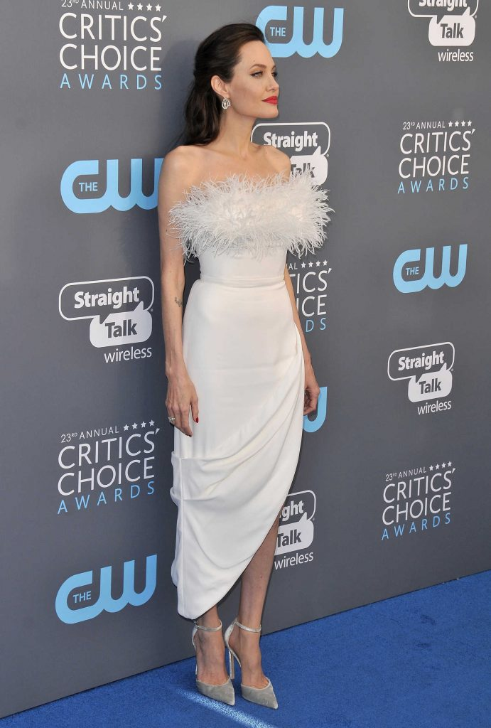 Angelina Jolie at the 23rd Annual Critics' Choice Awards in Santa Monica-2