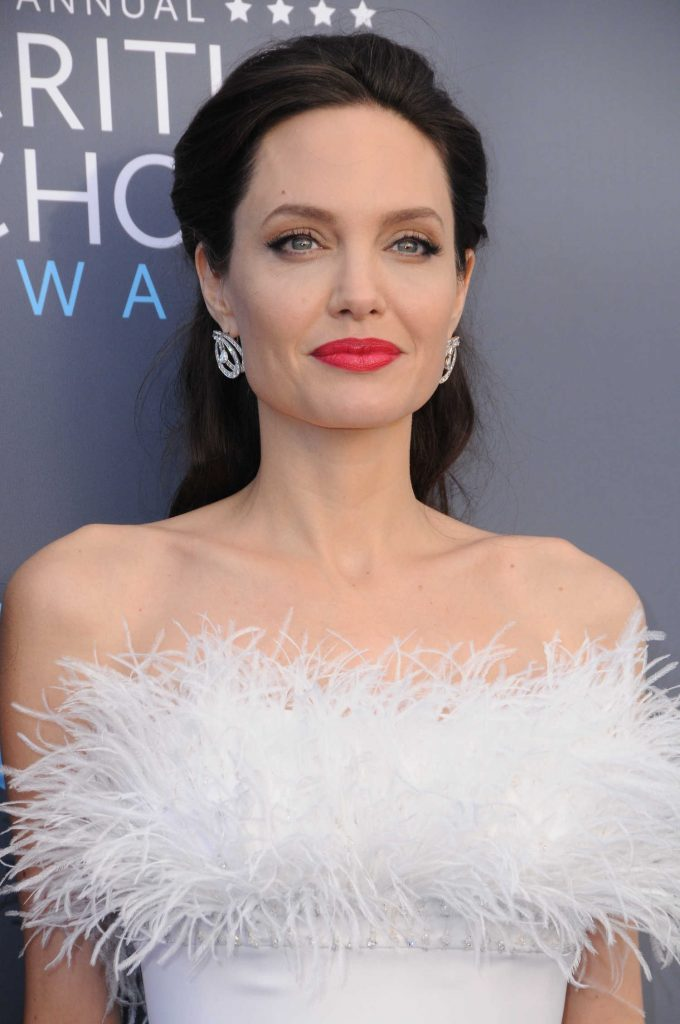 Angelina Jolie at the 23rd Annual Critics' Choice Awards in Santa Monica-5