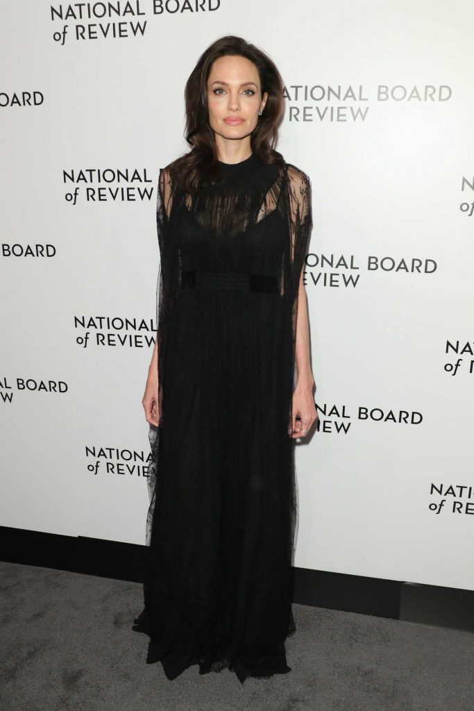 Angelina Jolie at The National Board of Review Annual Awards Gala at Cipriani 42nd Street in New York City-1