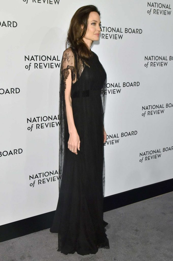 Angelina Jolie at The National Board of Review Annual Awards Gala at Cipriani 42nd Street in New York City-2