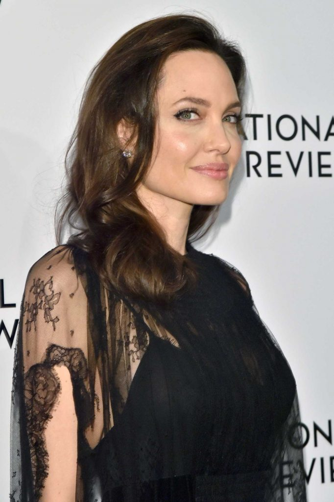 Angelina Jolie at The National Board of Review Annual Awards Gala at Cipriani 42nd Street in New York City-4