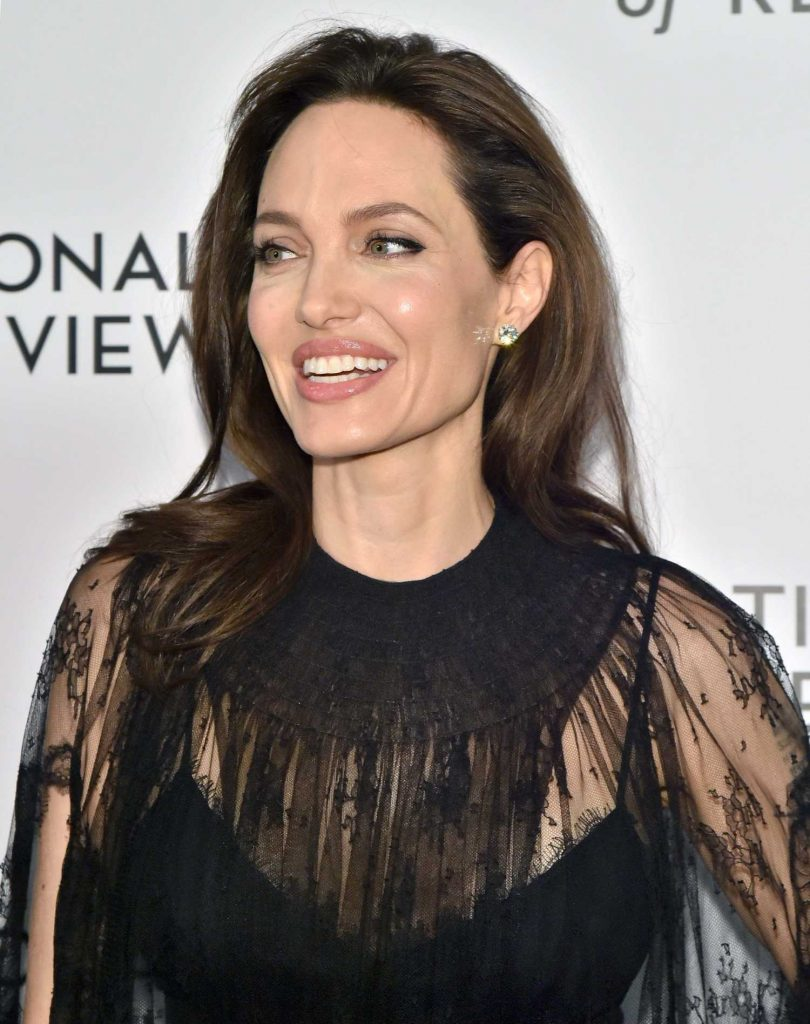 Angelina Jolie at The National Board of Review Annual Awards Gala at Cipriani 42nd Street in New York City-5