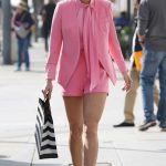 AnnaLynne McCord Wears All Pink Out in LA
