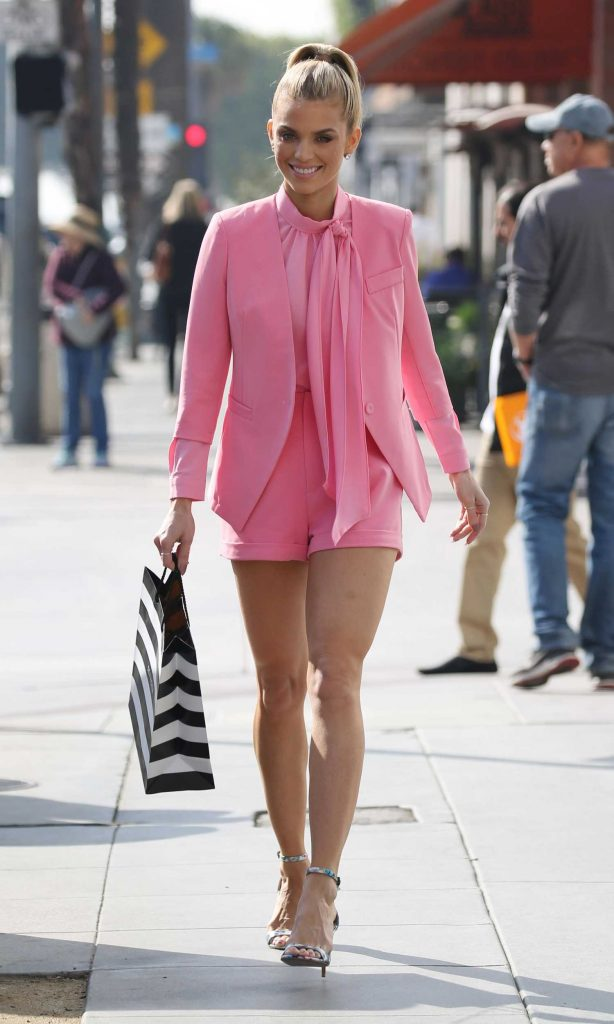 AnnaLynne McCord Wears All Pink Out in LA-1