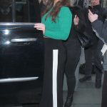 Ashley Graham Arrives at the Today Show in New York City