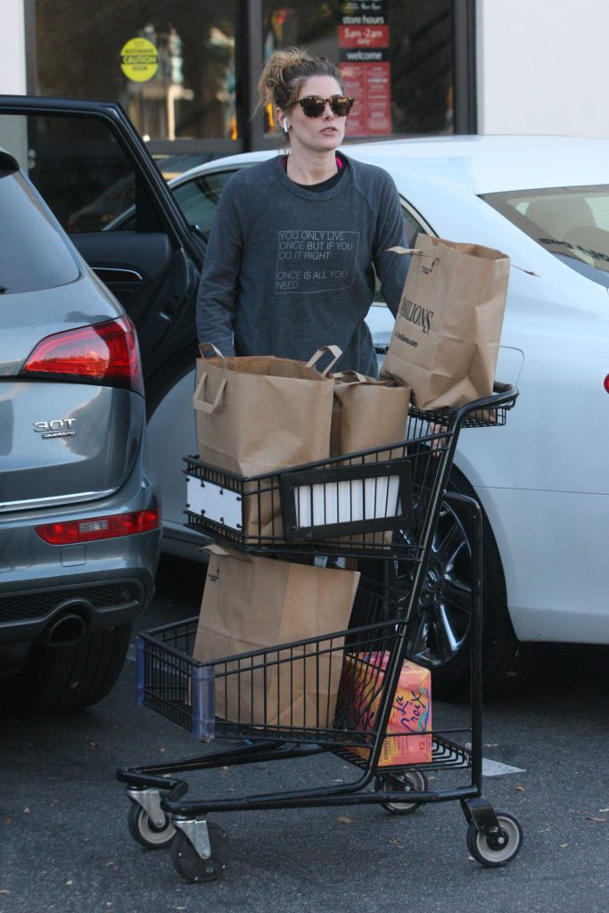 Ashley Greene Out for Grocery Shopping in West Hollywood-3