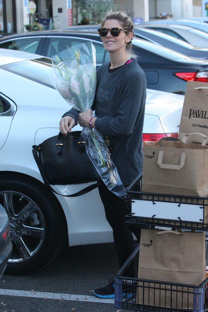Ashley Greene Out for Grocery Shopping in West Hollywood-5