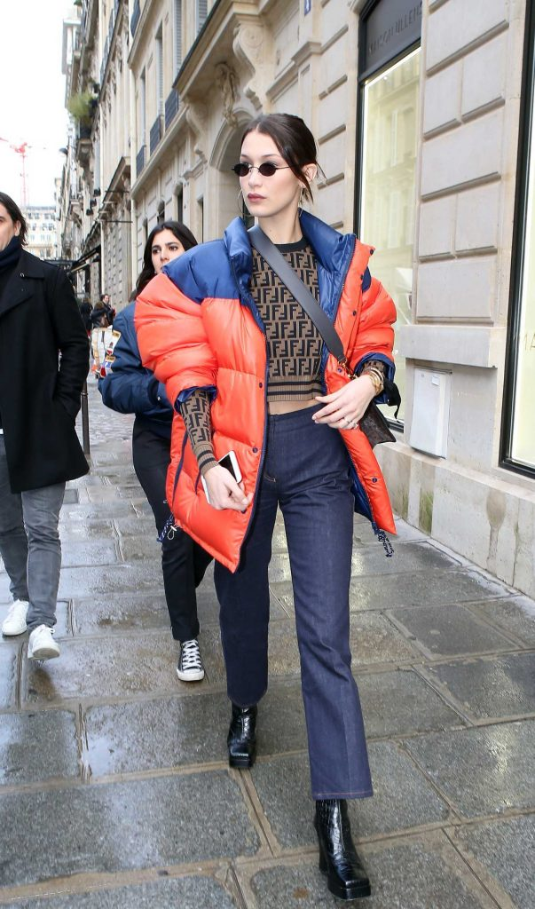 Bella Hadid Goes Shopping in Paris-4