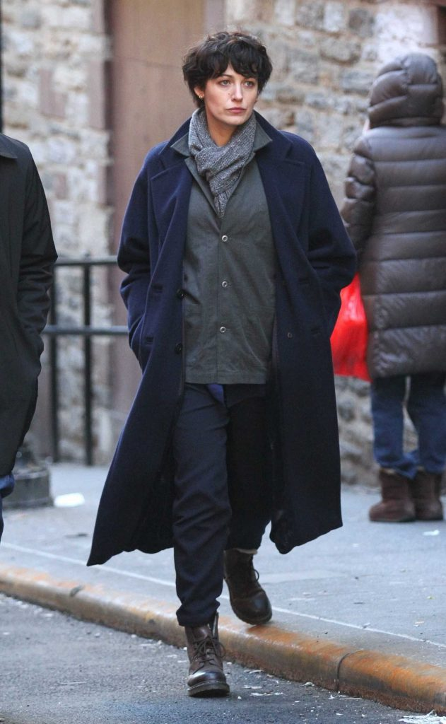 Blake Lively on the Set of The Rhythm Section in Downtown Manhattan in NYC-2