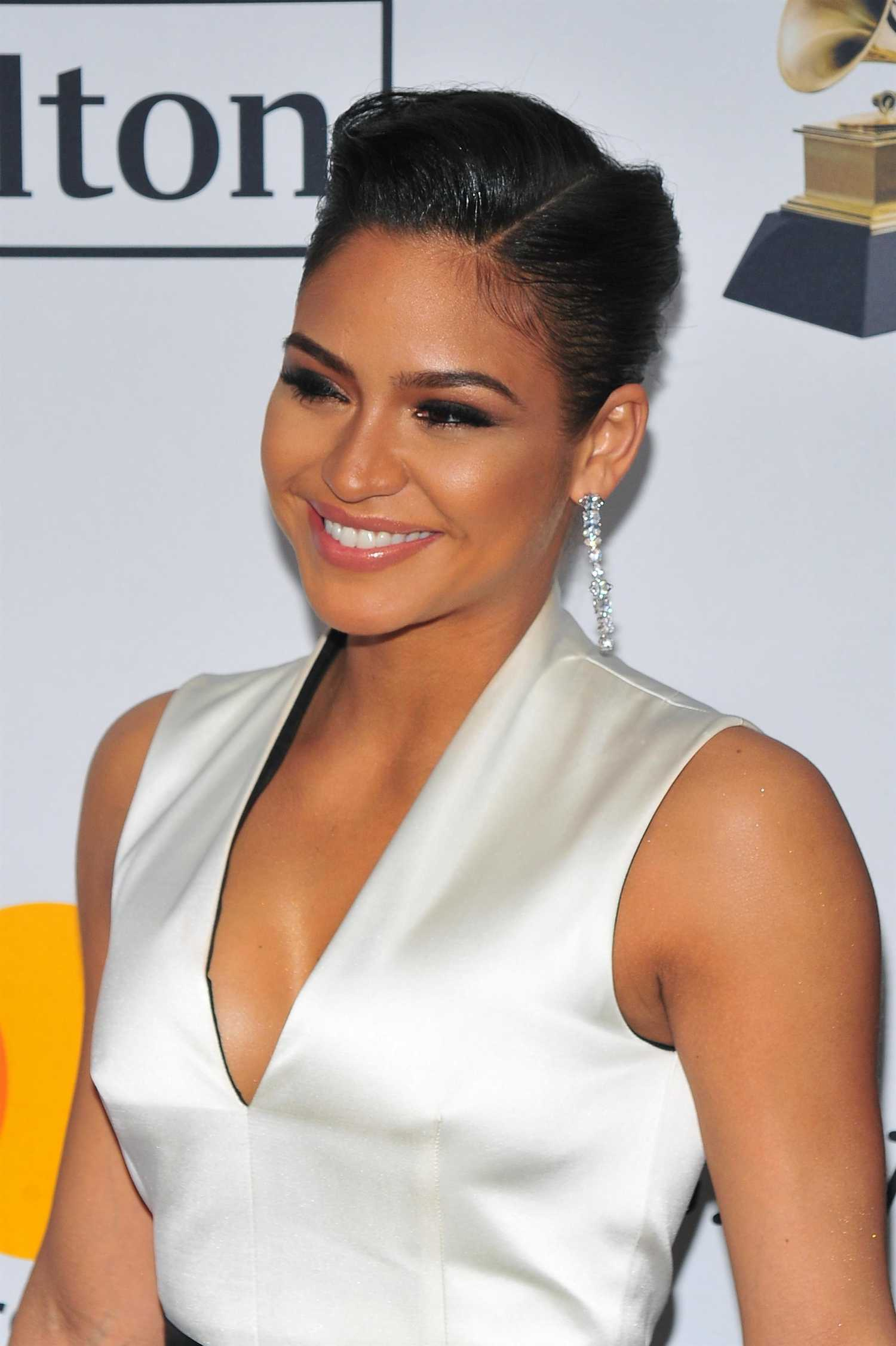 cassie ventura at the clive davis and recording academy