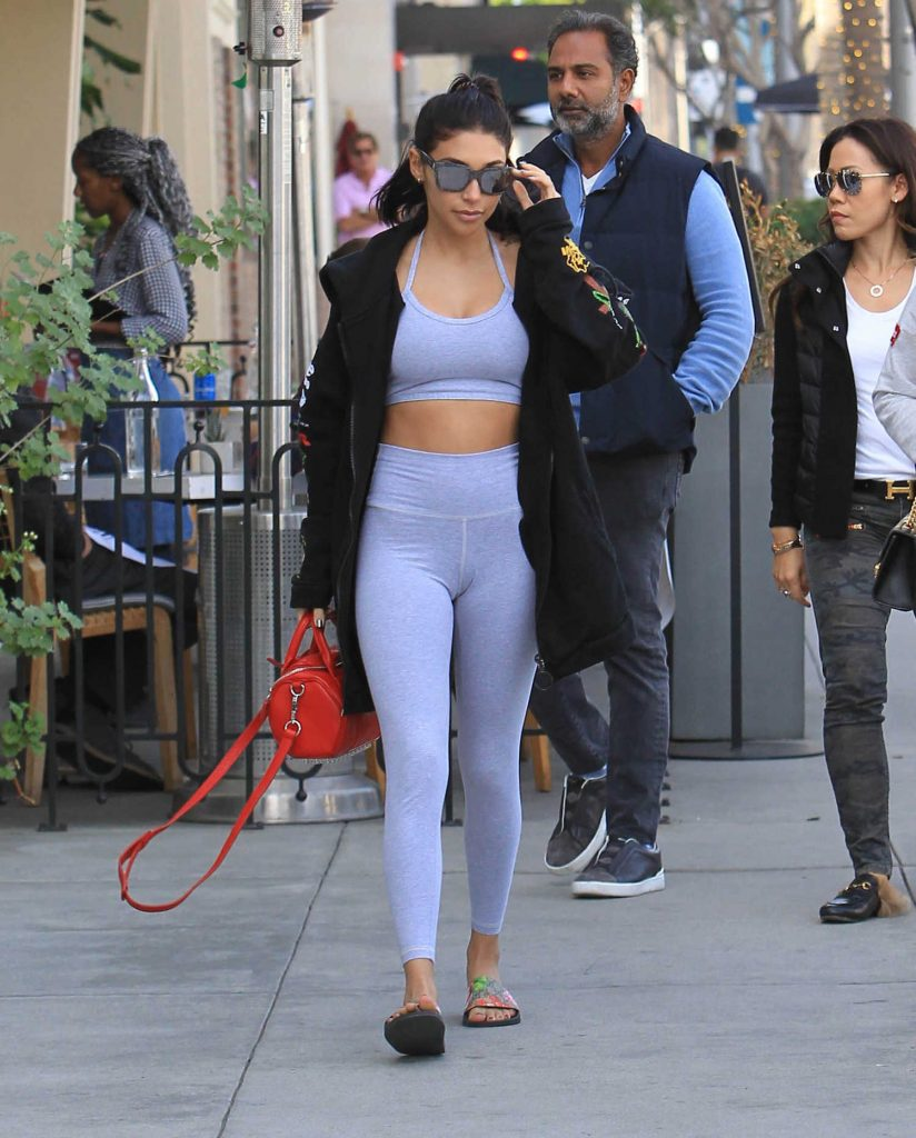 Chantel Jeffries Heads to Lunch in Beverly Hills-1