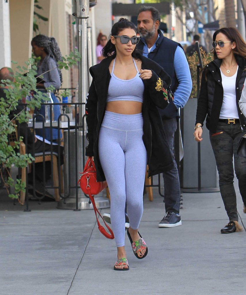 Chantel Jeffries Heads to Lunch in Beverly Hills-2