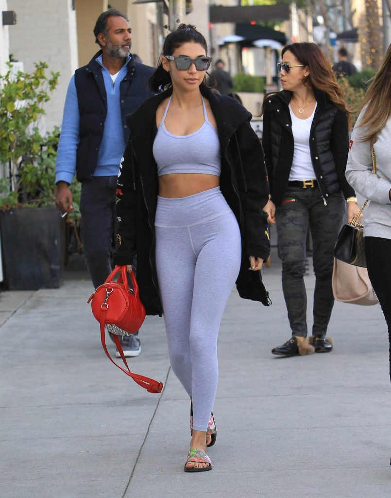 Chantel Jeffries Heads to Lunch in Beverly Hills-4