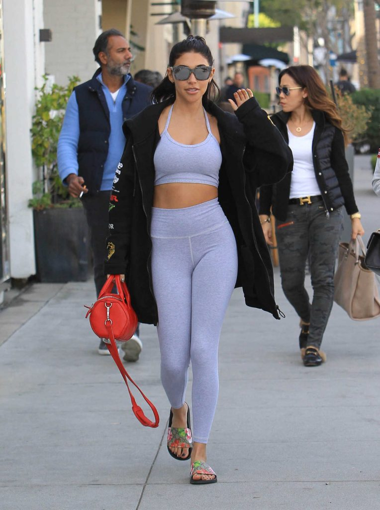 Chantel Jeffries Heads to Lunch in Beverly Hills-5
