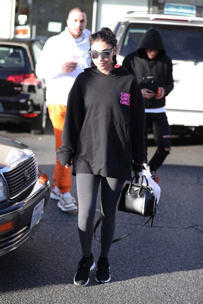 Chantel Jeffries Wears a Girls Girls Girls Hoodie in LA-4