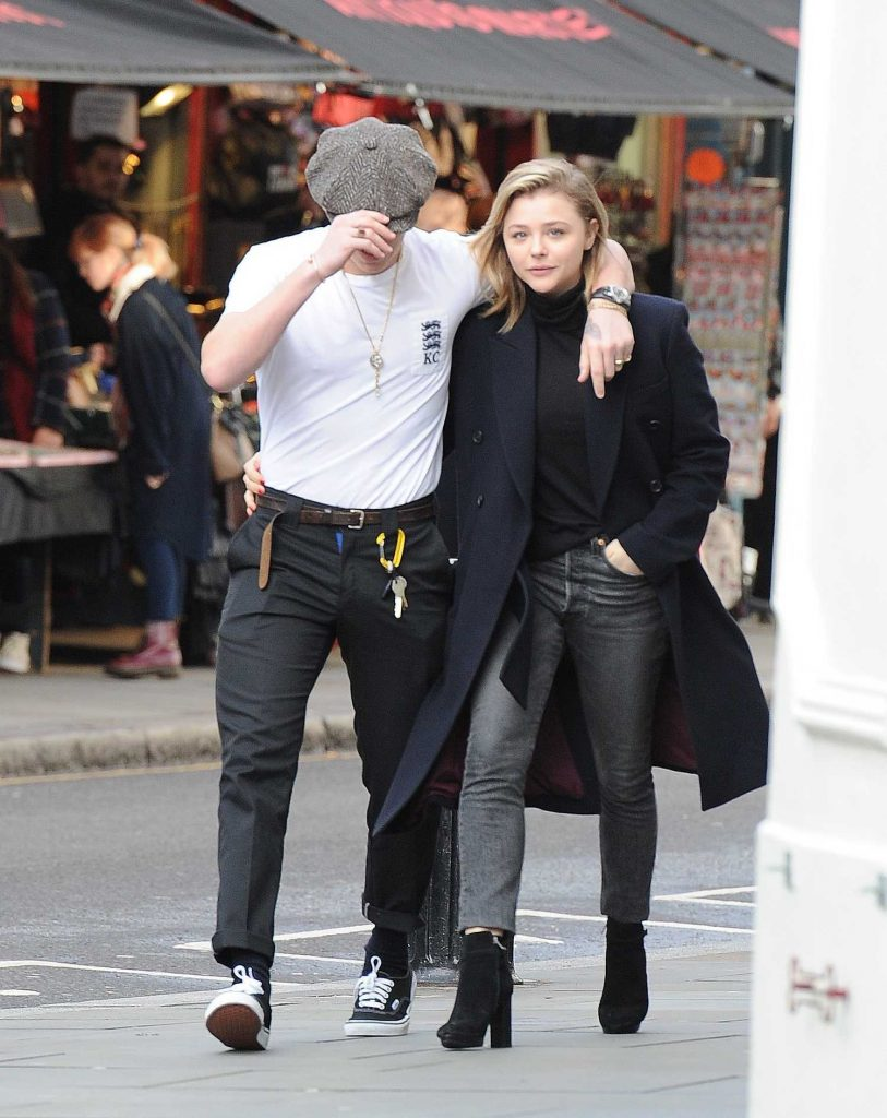 Chloe Moretz Was Spotted with Brooklyn Beckham in Notting Hill-1