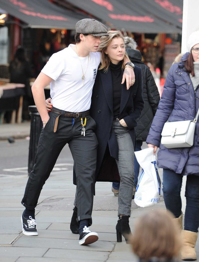 Chloe Moretz Was Spotted with Brooklyn Beckham in Notting Hill-3