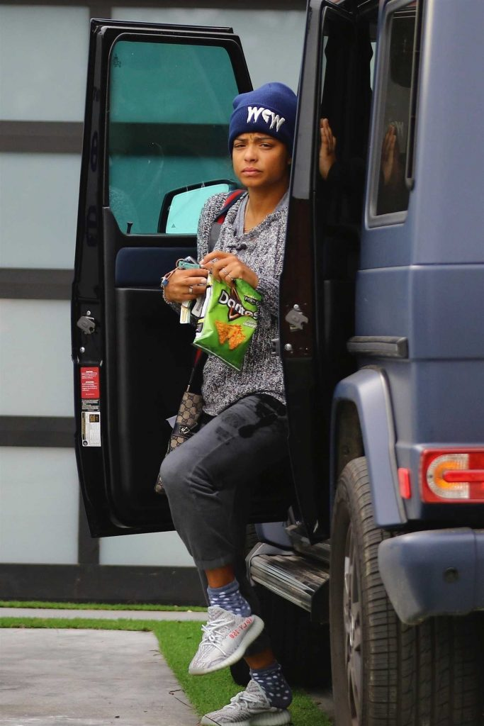 Christina Milian Heads to the Gym in Los Angeles-1