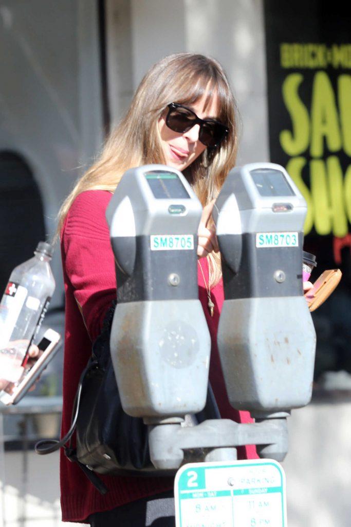 Dakota Johnson Grabs a Coffee in West Hollywood-1