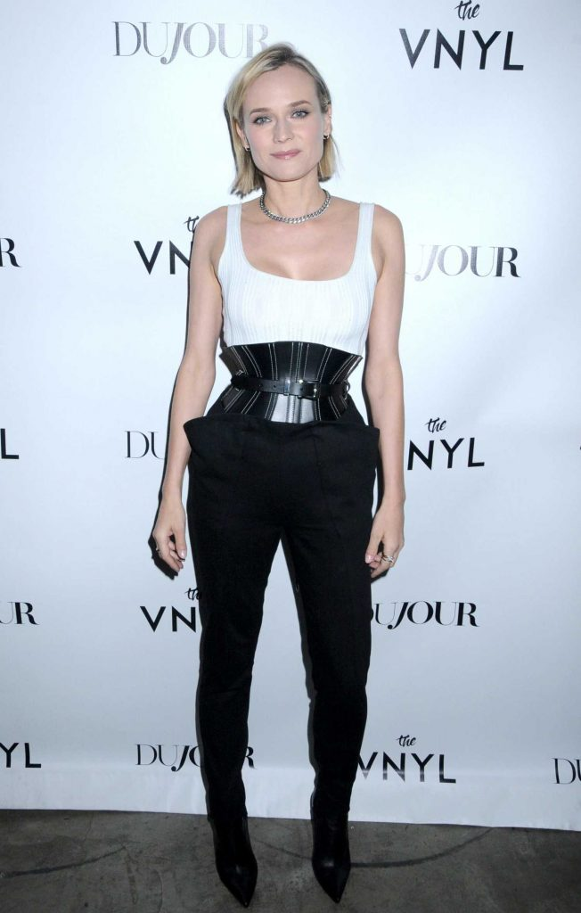 Diane Kruger at the DuJour's Jason Binn Celebrates Winter Cover Star Diane Kruger in NYC-1