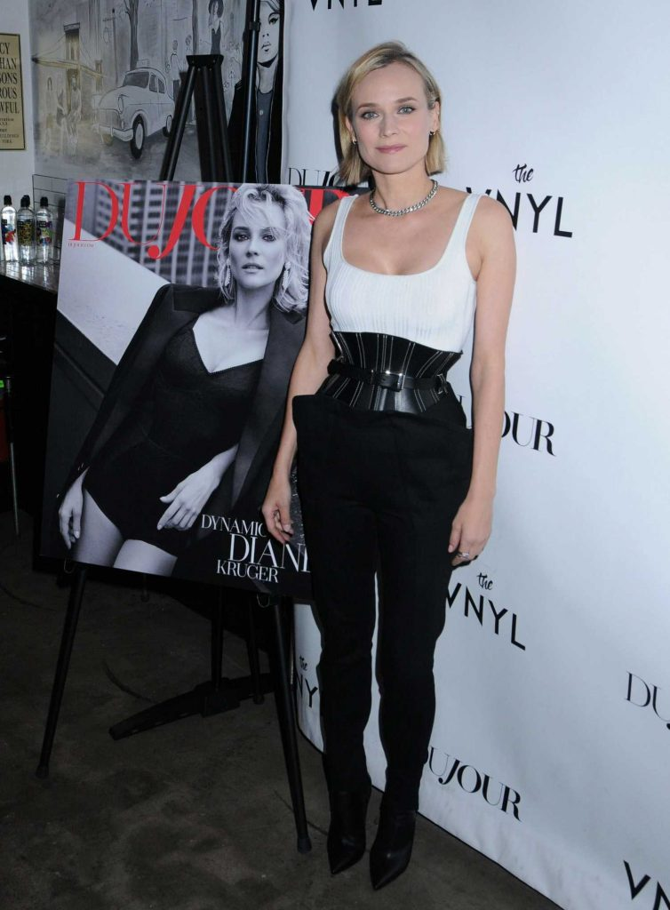 Diane Kruger at the DuJour's Jason Binn Celebrates Winter Cover Star Diane Kruger in NYC-2