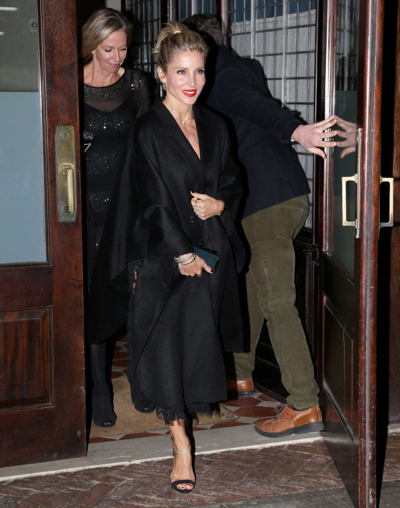 Elsa Pataky Leaves Her Hotel in New York City-1