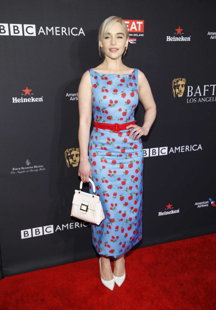 Emilia Clarke at the BAFTA Los Angeles Tea Party in Los Angeles-1