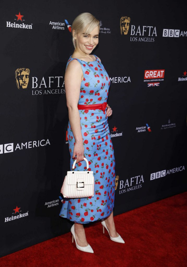 Emilia Clarke at the BAFTA Los Angeles Tea Party in Los Angeles-2