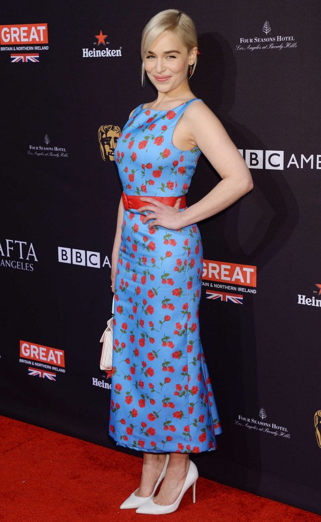 Emilia Clarke at the BAFTA Los Angeles Tea Party in Los Angeles-3