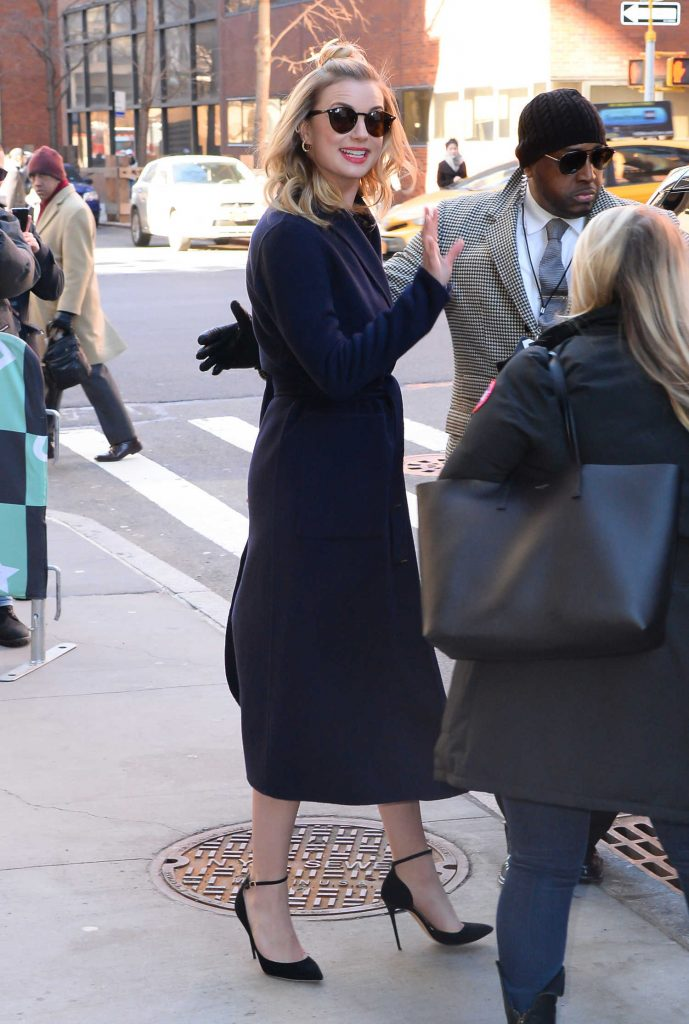 Emily VanCamp Visits AOL Build Series in New York City-5
