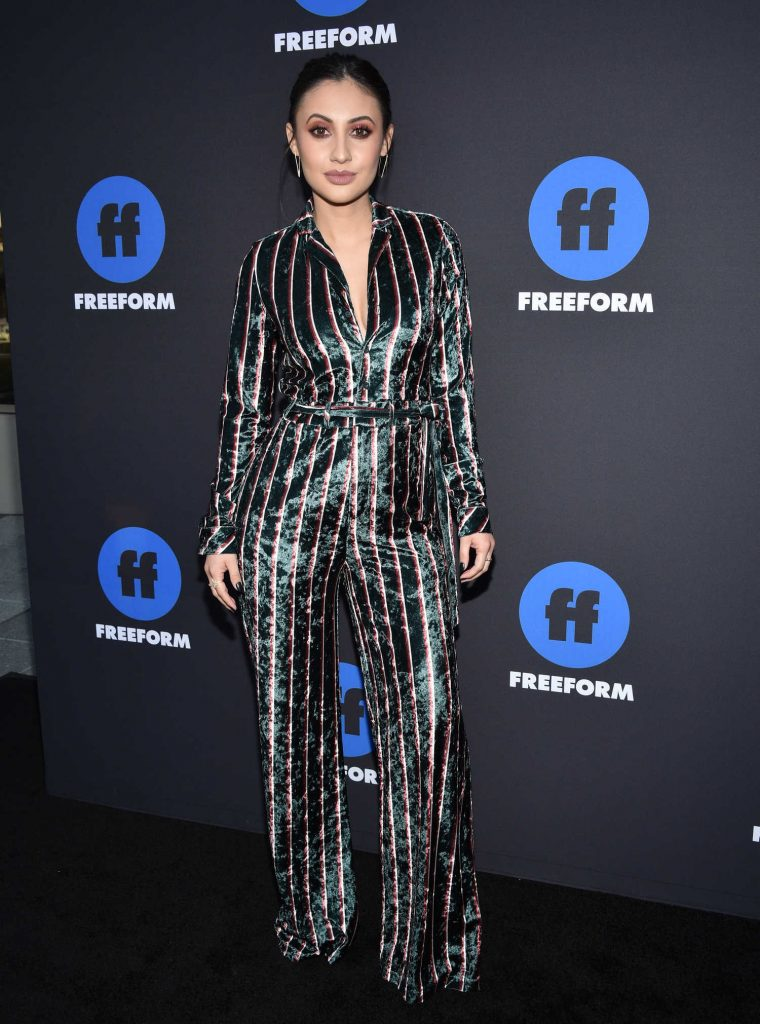 Francia Raisa at 2018 Freeform Summit in Hollywood-1