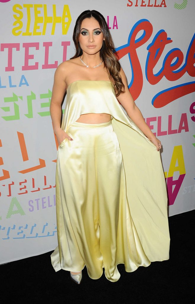 Francia Raisa at the Stella McCartney Show in Hollywood-2