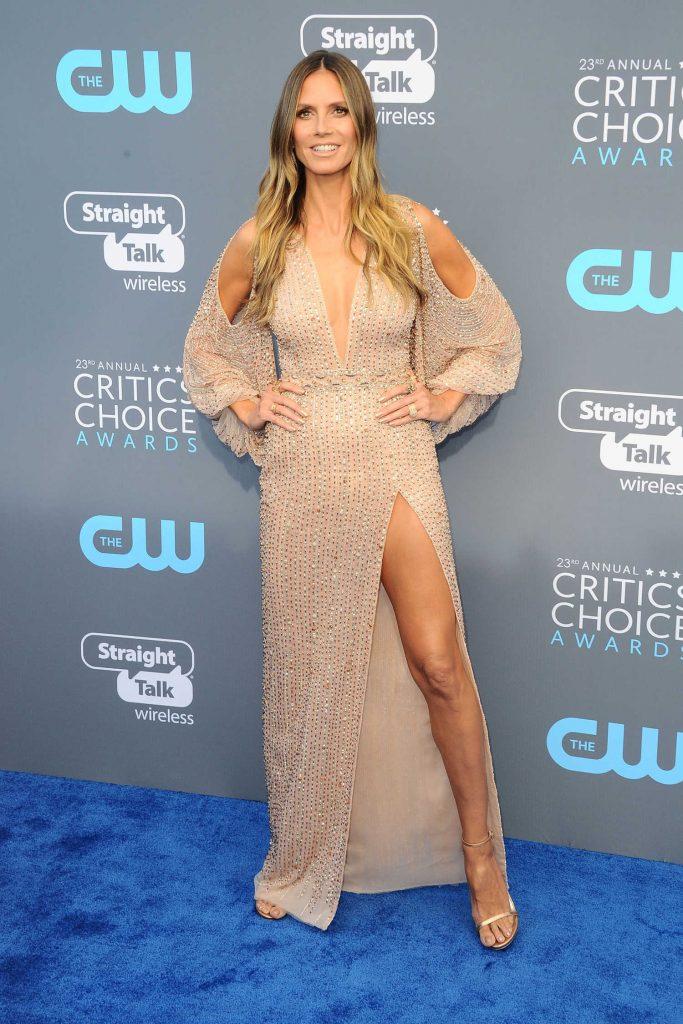 Heidi Klum at the 23rd Annual Critics' Choice Awards in Santa Monica-1