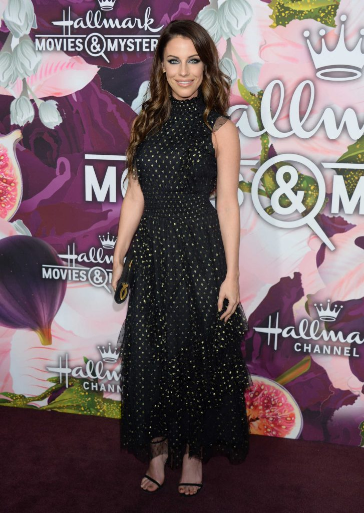 Jessica Lowndes at the Hallmark Channel All-Star Party During the TCA Winter Press Tour in Los Angeles-2